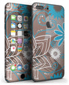 Brown_Surface_with_Blue_and_White_Whymsical_Floral_Pattern_-_iPhone_7_Plus_-_FullBody_4PC_v3.jpg