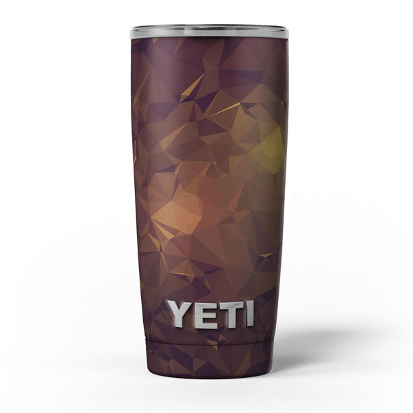 Brown_and_Gold_Geometric_Triangles_-_Yeti_Rambler_Skin_Kit_-_20oz_-_V5.jpg
