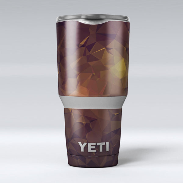 Brown_and_Gold_Geometric_Triangles_-_Yeti_Rambler_Skin_Kit_-_30oz_-_V1.jpg