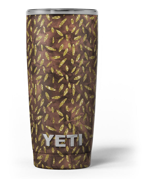 Brown_and_Gold_Leaf_Pattern_-_Yeti_Rambler_Skin_Kit_-_20oz_-_V3.jpg