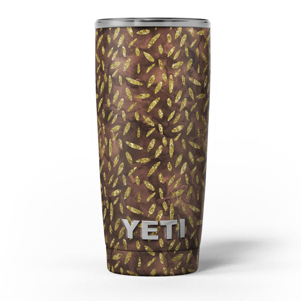 Brown_and_Gold_Leaf_Pattern_-_Yeti_Rambler_Skin_Kit_-_20oz_-_V5.jpg