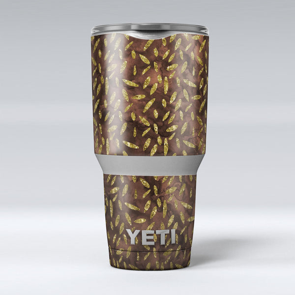 Brown_and_Gold_Leaf_Pattern_-_Yeti_Rambler_Skin_Kit_-_30oz_-_V1.jpg
