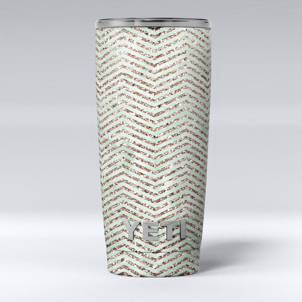 Brown_and_Green_Glimmer_Chevron_-_Yeti_Rambler_Skin_Kit_-_20oz_-_V1.jpg