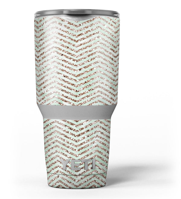 Brown_and_Green_Glimmer_Chevron_-_Yeti_Rambler_Skin_Kit_-_30oz_-_V3.jpg
