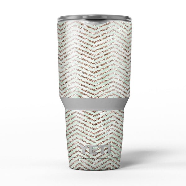 Brown_and_Green_Glimmer_Chevron_-_Yeti_Rambler_Skin_Kit_-_30oz_-_V5.jpg