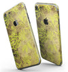 Brown_and_Lime_Green_Floral_Damask_Pattern_-_iPhone_7_-_FullBody_4PC_v3.jpg