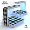 Buffalo Check Lumberjack Plaid UV Germicidal Sanitizing Sterilizing Wireless Smart Phone Screen Cleaner + Charging Station