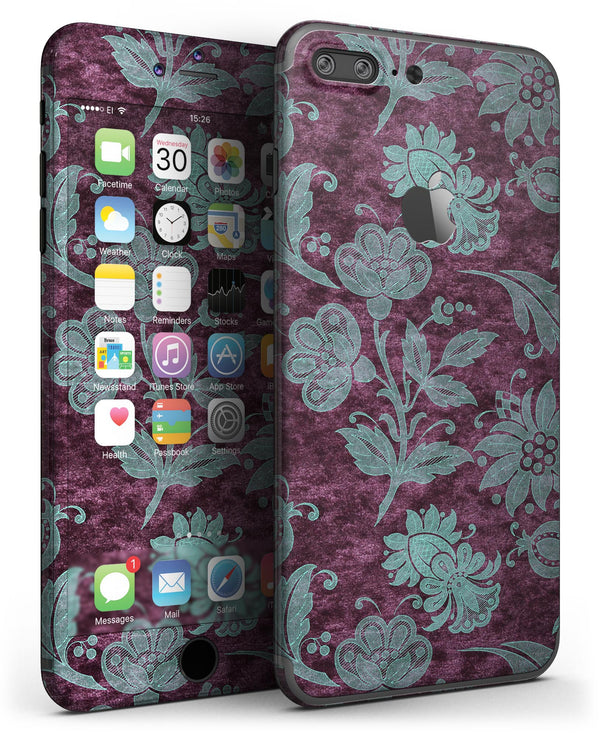 Burgundy_and_Turquoise_Floral_Velvet_-_iPhone_7_Plus_-_FullBody_4PC_v3.jpg