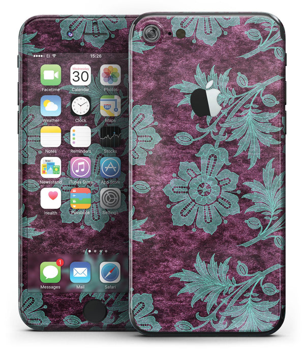 Burgundy_and_Turquoise_Floral_Velvet_v2_-_iPhone_7_-_FullBody_4PC_v2.jpg