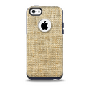 Burlap Texture Skin for the iPhone 5c OtterBox Commuter Case