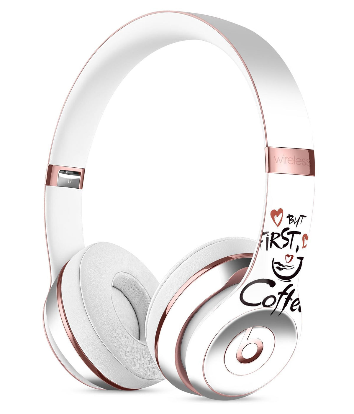 d0bed29160d But First Coffee Full-Body Skin Kit for the Beats by Dre Solo 3 Wirele -  DesignSkinz