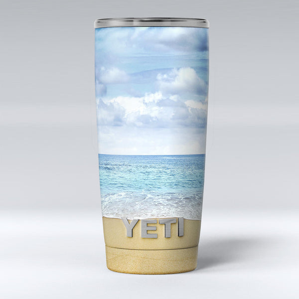 Calm_Blue_Sky_and_Sea_Shore_-_Yeti_Rambler_Skin_Kit_-_20oz_-_V1.jpg