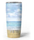 Calm Blue Sky and Sea Shore Yeti Rambler Skin Kit