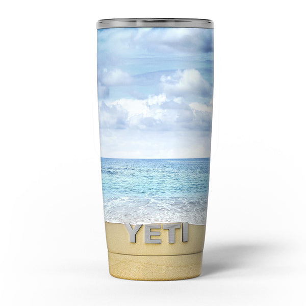 Calm_Blue_Sky_and_Sea_Shore_-_Yeti_Rambler_Skin_Kit_-_20oz_-_V5.jpg