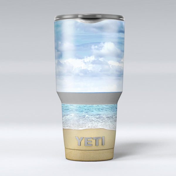 Calm_Blue_Sky_and_Sea_Shore_-_Yeti_Rambler_Skin_Kit_-_30oz_-_V1.jpg