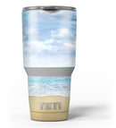 Calm_Blue_Sky_and_Sea_Shore_-_Yeti_Rambler_Skin_Kit_-_30oz_-_V3.jpg