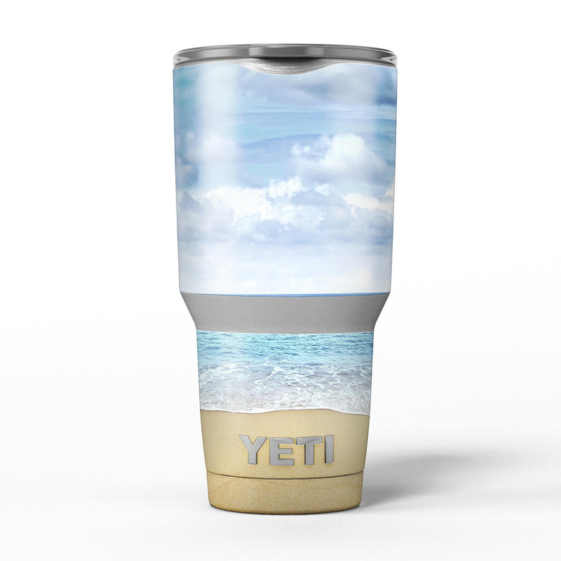 Calm_Blue_Sky_and_Sea_Shore_-_Yeti_Rambler_Skin_Kit_-_30oz_-_V5.jpg