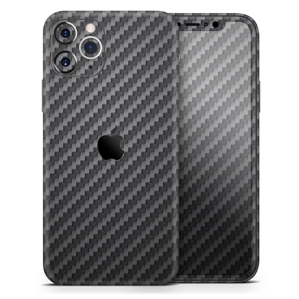 Carbon Fiber Texture - Skin-Kit for the Apple iPhone 11, 11 Pro or 11 Pro Max