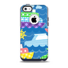 Cartoon Ships and Submarines Skin for the iPhone 5c OtterBox Commuter Case