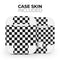 Checkerboard - Full Body Skin Decal Wrap Kit for the Wireless Bluetooth Apple Airpods Pro, AirPods Gen 1 or Gen 2 with Wireless Charging