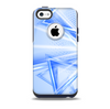 Clear Blue HD Triangles Skin for the iPhone 5c OtterBox Commuter Case