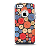 Colored Vector Buttons Skin for the iPhone 5c OtterBox Commuter Case