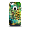 Colorful Chaotic HD Shard Pattern Skin for the iPhone 5c OtterBox Commuter Case