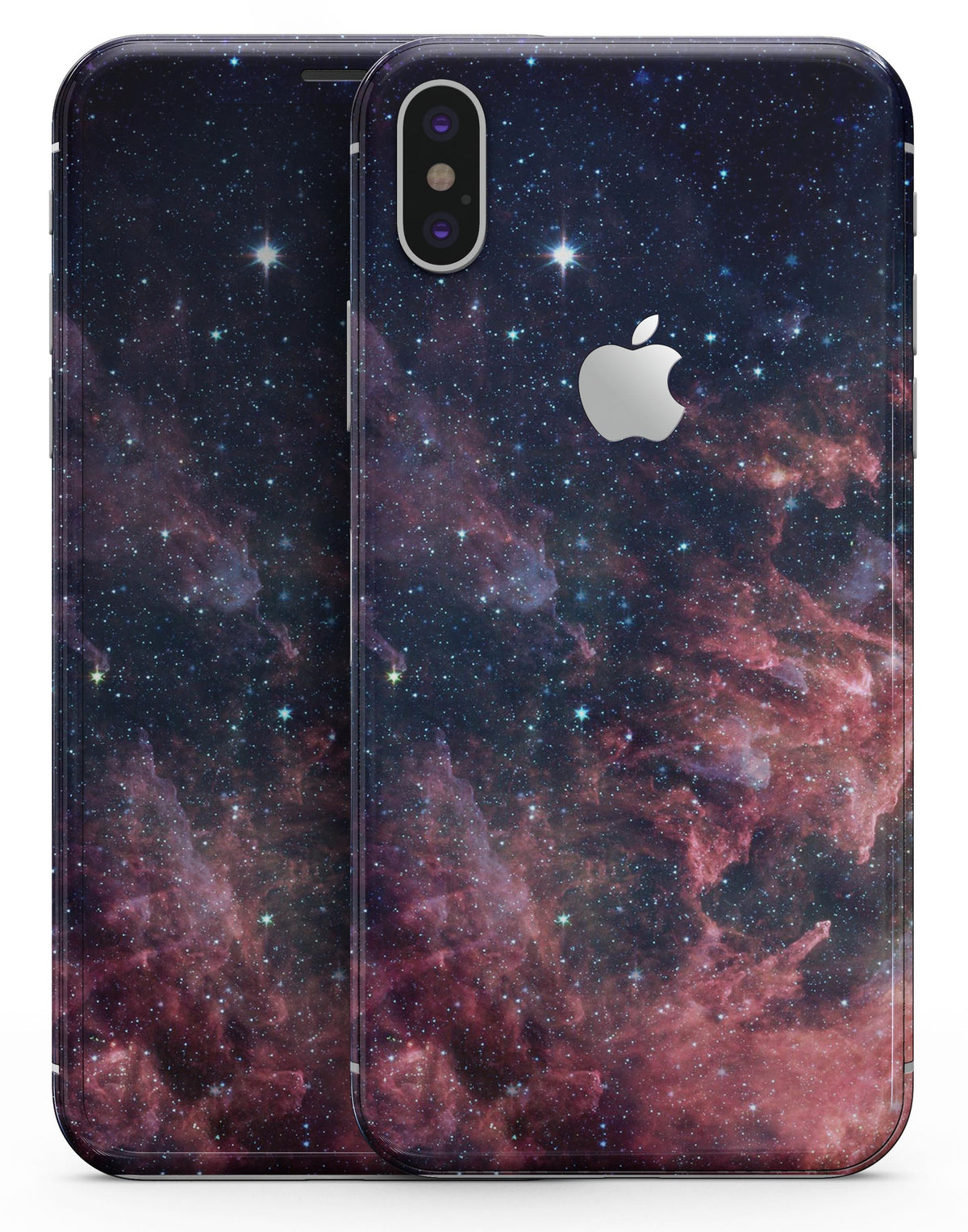 check out 1f8bf c9aec Colorful Deep Space Nebula - iPhone X Skin-Kit