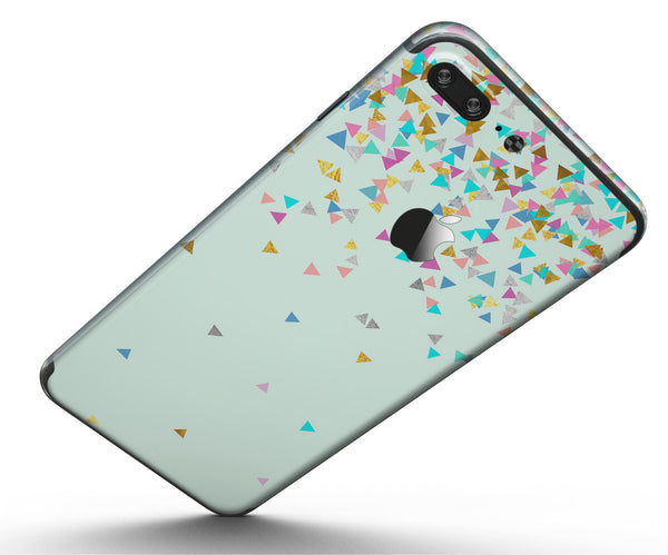 Colorful_Falling_Triangles_Over_Mint_-_iPhone_7_Plus_-_FullBody_4PC_v5.jpg