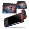 Colorful Galaxy V492 - Skin Wrap Decal for Nintendo Switch Lite Console & Dock - 3DS XL - 2DS - Pro - DSi - Wii - Joy-Con Gaming Controller