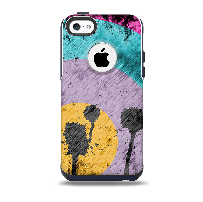 brand new 5498d 7edf7 Colorful Grunge Target Skin for the iPhone 5c OtterBox Commuter Case
