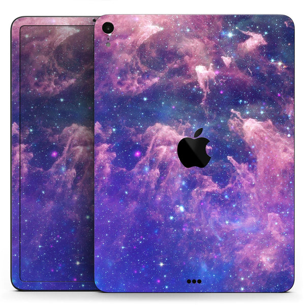 "Colorful Nebula - Full Body Skin Decal for the Apple iPad Pro 12.9"", 11"", 10.5"", 9.7"", Air or Mini (All Models Available)"