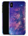 Colorful Nebula - iPhone X Clipit Case