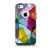 Colorful Overlapping Translucent Shapes Skin for the iPhone 5c OtterBox Commuter Case