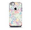 Colorful Vector Leaves Skin for the iPhone 5c OtterBox Commuter Case