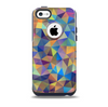 Colorful Vibrant Triangle Connect Pattern Skin for the iPhone 5c OtterBox Commuter Case