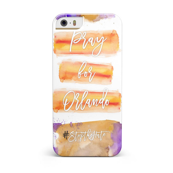 Pray For Orlando V11 INK-Fuzed Case for the iPhone 5/5S/SE