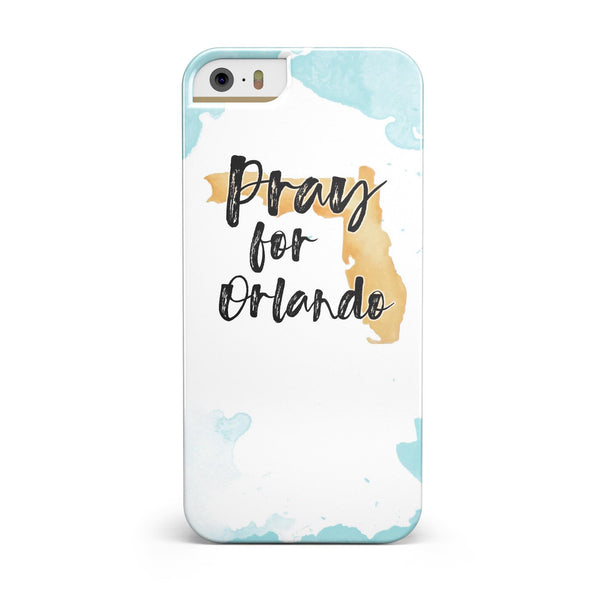 Pray For Orlando V1 INK-Fuzed Case for the iPhone 5/5S/SE
