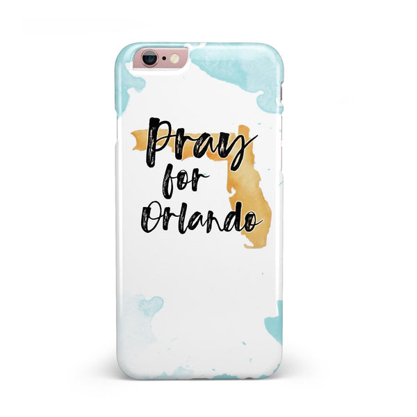 Pray For Orlando V1 INK-Fuzed Case for the iPhone 6/6s or 6/6s Plus