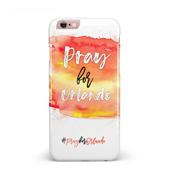Pray For Orlando V2 INK-Fuzed Case for the iPhone 6/6s or 6/6s Plus