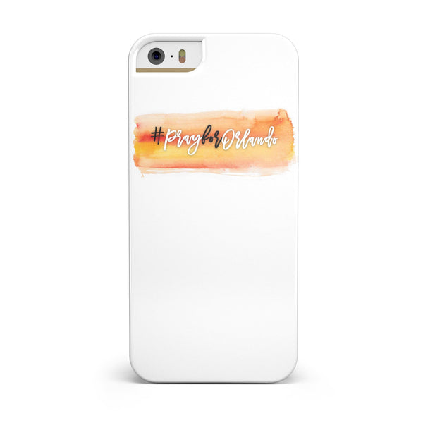 Pray For Orlando V5 INK-Fuzed Case for the iPhone 5/5S/SE