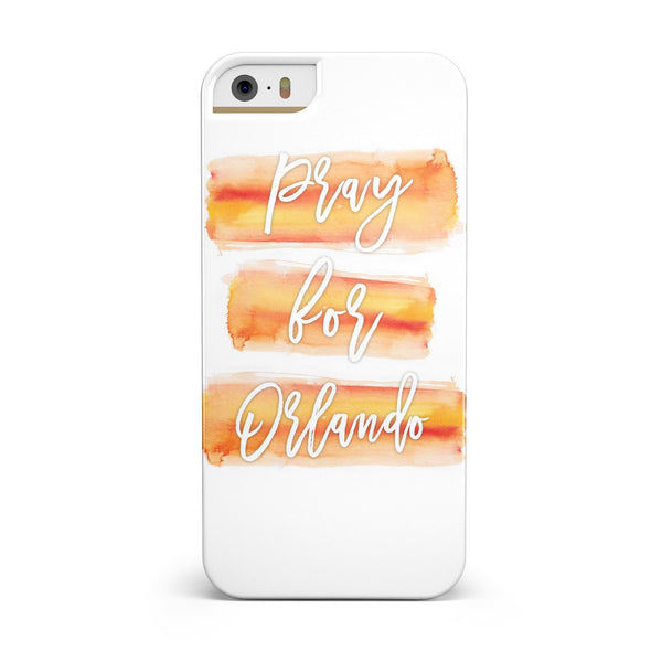 Pray For Orlando V6 INK-Fuzed Case for the iPhone 5/5S/SE