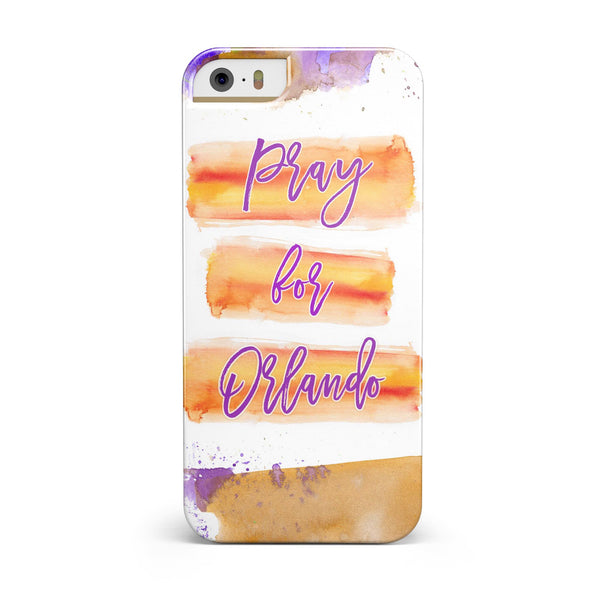 Pray For Orlando V8 INK-Fuzed Case for the iPhone 5/5S/SE