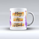 Pray For Orlando v9 - ink-Fuzed Ceramic Coffee Mug