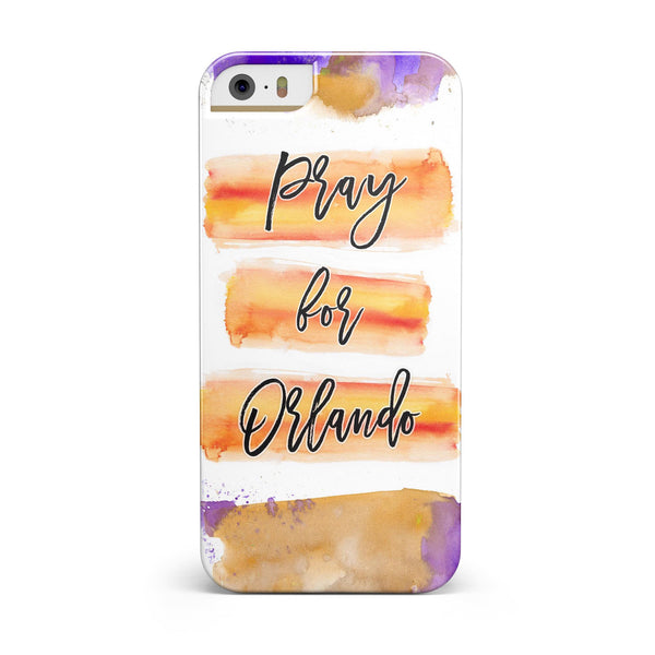 Pray For Orlando V9 INK-Fuzed Case for the iPhone 5/5S/SE