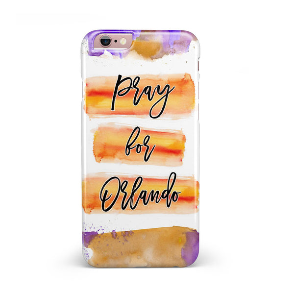 Pray For Orlando V9 INK-Fuzed Case for the iPhone 6/6s or 6/6s Plus
