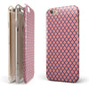 Coral and Morroccan Pattern iPhone 6/6s or 6/6s Plus 2-Piece Hybrid INK-Fuzed Case
