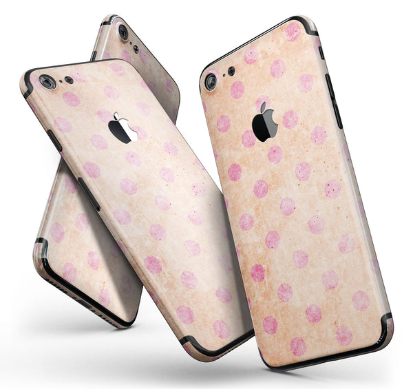 Coral_and_Pink_Scratched_Polka_Dots_-_iPhone_7_-_FullBody_4PC_v11.jpg