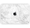 "Cracked Marble Surface - Skin Decal Wrap Kit Compatible with the Apple MacBook Pro, Pro with Touch Bar or Air (11"", 12"", 13"", 15"" & 16"" - All Versions Available)"
