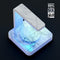 Cracked Marble Surface UV Germicidal Sanitizing Sterilizing Wireless Smart Phone Screen Cleaner + Charging Station